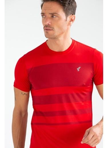 Speedlife Glob Erkek Tişört Kırmızı